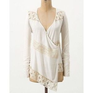 Anthropologie Tiny Tilly Lace Cardigan